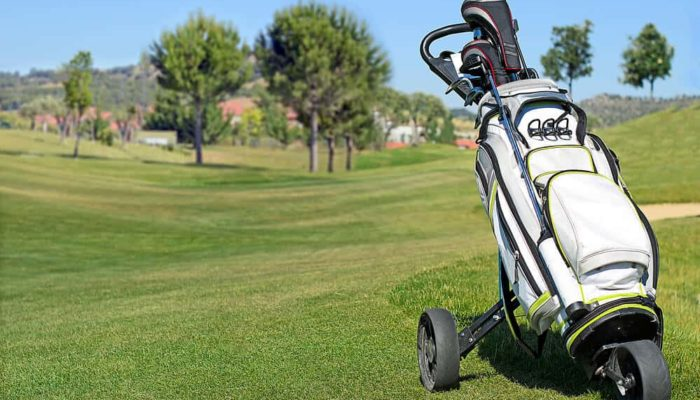best push pull golf carts