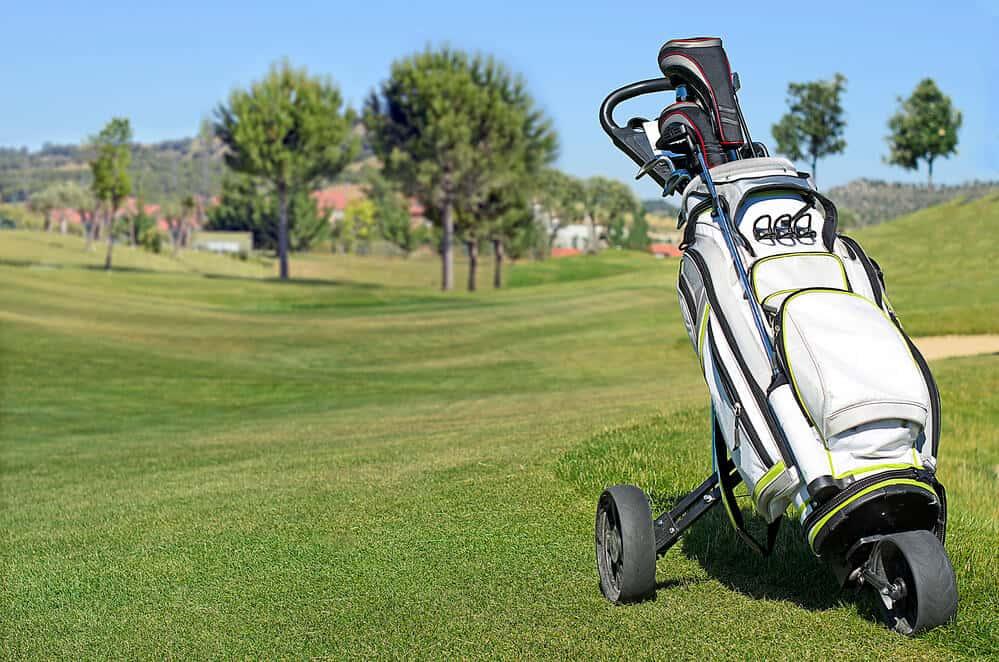 best push pull golf carts