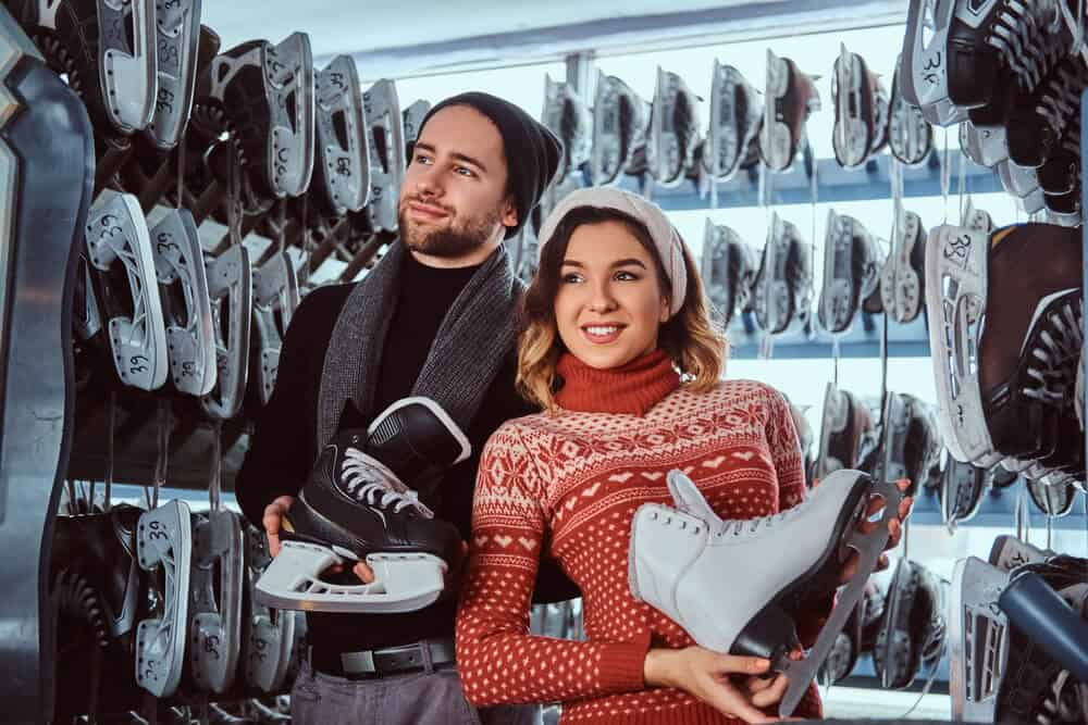 best ice skating stores