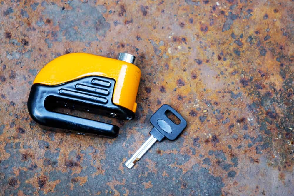 motorcycle lock