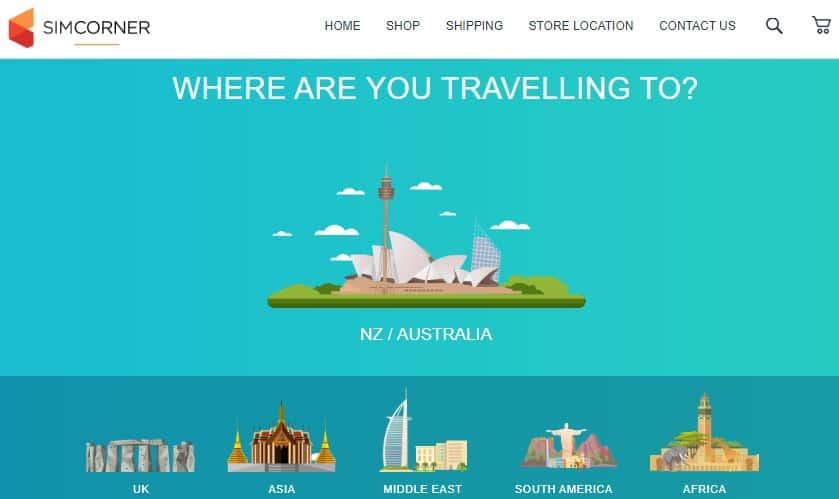 simcorner review australia