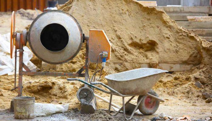 best portable cement mixers