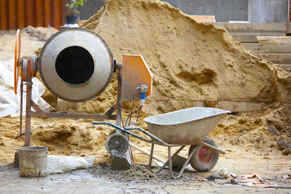 best portable cement mixers