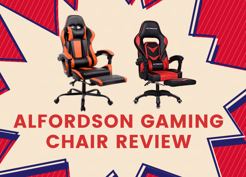 Alfordson Gaming Chair Review