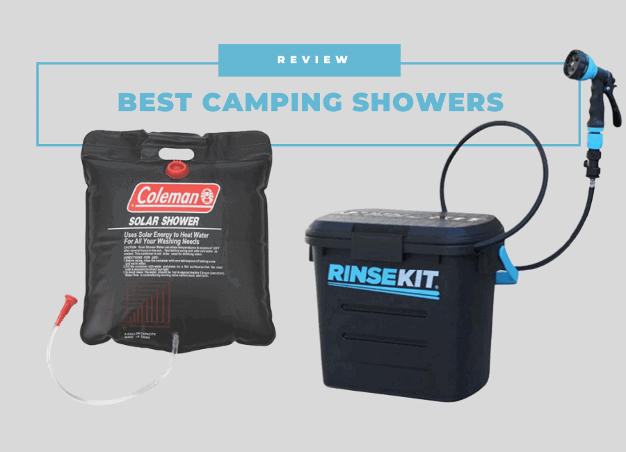 Best camping showers australia