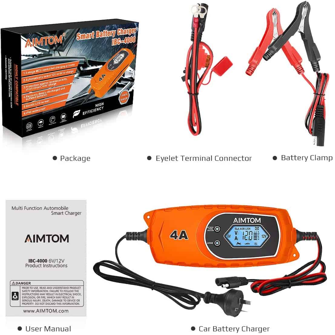 aimtom smart battery charger review australia
