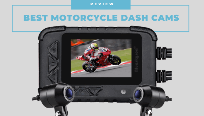 best motorcycle dash cams australia