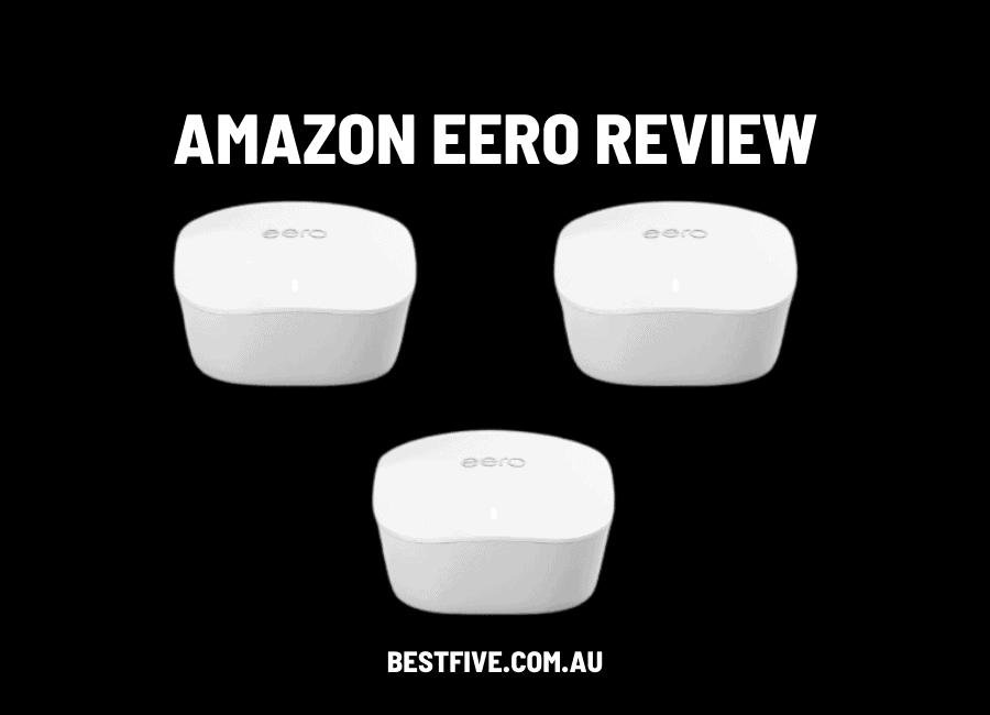 amazon eero mesh wifi review
