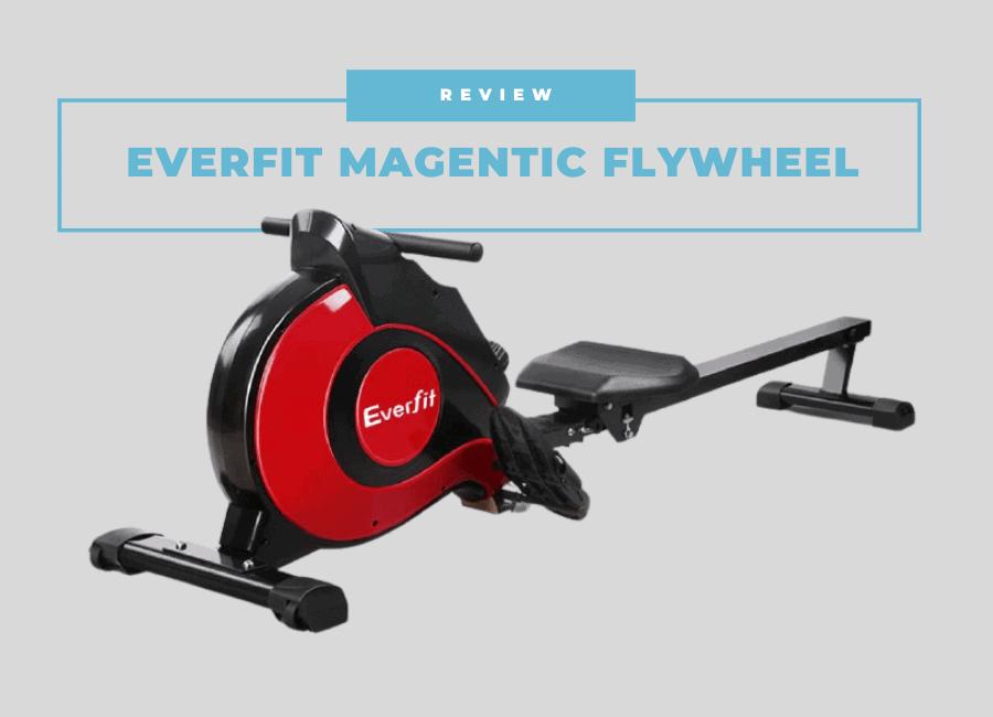 everfit magnetic flywheel rowing machine review