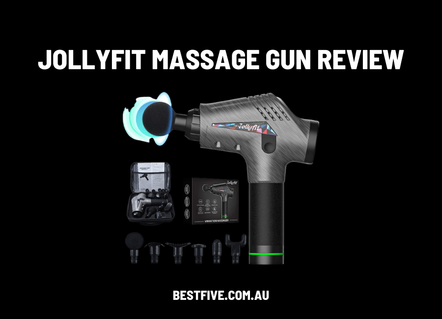 jollyfit massage gun review australia